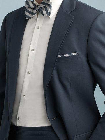 Allure stripe bowfor vest page